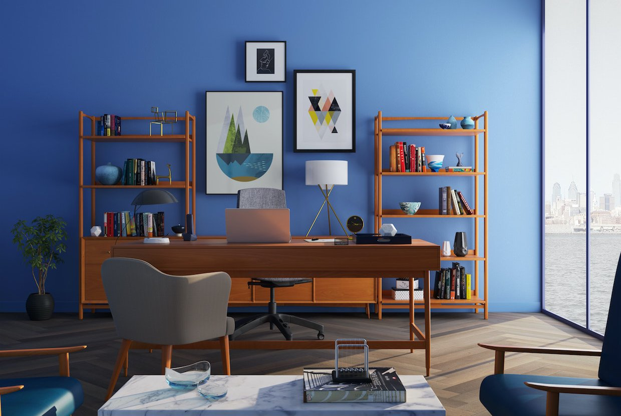 2020%2f05%2f05%2f16%2f37%2f21%2fae8e25e6 cfd5 4a63 9ddf be8f3f1dcf94%2fbrown wooden desk with rolling chair and shelves near window 667838