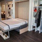 Micro Condo Interior Murphy Bed