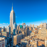 Panoramic View of Midtown and Empire State  Building