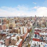Aerial Shot of Manhattan UWS Buildings