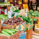 Open-Air Market in Chinatown, Manhattan