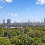 Views of Central Park in NYC from The Bolivar