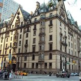The Dakota Pre-War Facade From Street-Level in NYC