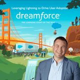 "Tigh Loughhead returns to Dreamforce DF17 in San Francisco with Elegran's ""Leverage Lightning to Drive User Adoption"""